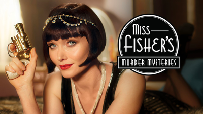 Miss Fisher's Murder Mysteries - Only on Acorn TV category image