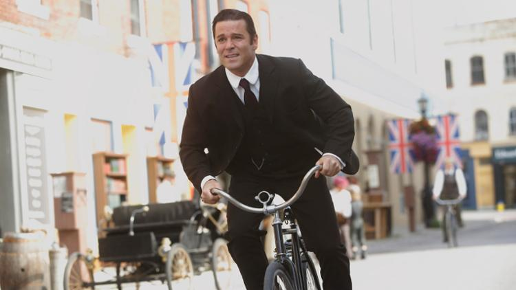 Image result for murdoch mysteries bicycle