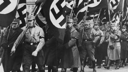rise of the nazi party through But hitler can't really win over the socialists in germany given that he publicly  expresses  the german communist party (kpd), which also increases its votes ,.