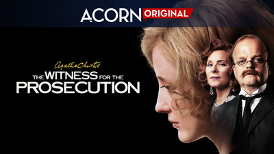Agatha Christie's The Witness for the Prosecution - Only on Acorn TV category image