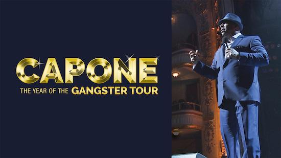 Capone: The Year of the Gangster Tour - Comedy category image