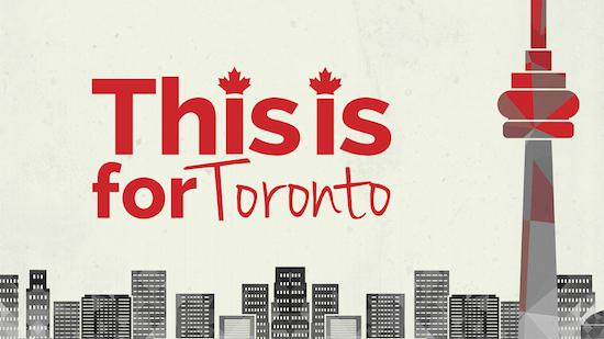 This is For Toronto - Documentary category image